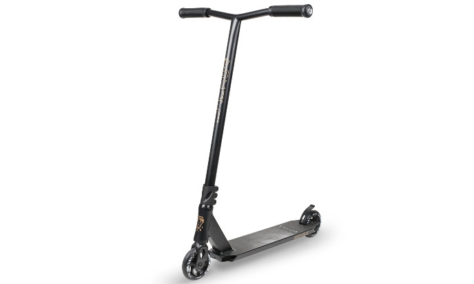 VOKUL X1 Complete professional Scooter for lay to rest and Advanced Rider - race Trick professional Stunt Scooter with Al Bar/Deck/Fork and 120mm 3D Wheels for teenagers